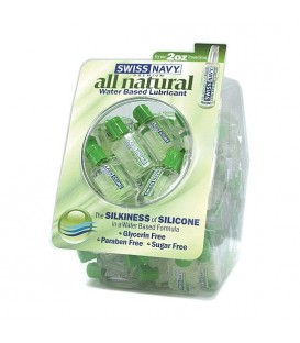 PACK SWISS NAVY LUBRICANTE NATURAL BASE AL AGUA