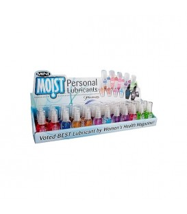 MINI MOIST DISPLAY LUBRICANTES 36 PCS