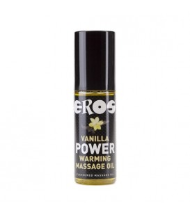 EROS VANILLA POWER WARMING MASSAGE OIL 100ML