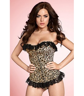 KISS ME LEOPARD LOOK CORSE ESTAMPADO LEOPARDO