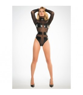 ALIXX SPECTACULAR SLEEK BODY CON TRANSPARENCIAS