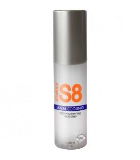 S8 LUBRICANTE ANAL BASE DE AGUA EFECTO FRiO 125ML