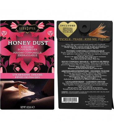 HONEY DUST POLVOS AFRODISiACOS FRESA 28G