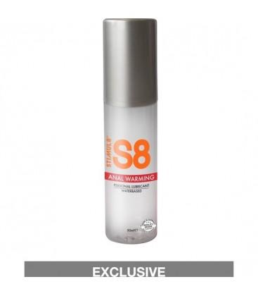 S8 LUBRICANTE ANAL BASE DE AGUA EFECTO CALOR 50ML