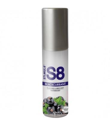 S8 LUBRICANTE SABORES 50ML GROSELLA NEGRA