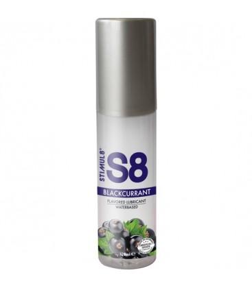 S8 LUBRICANTE SABORES 125ML GROSELLA NEGRA