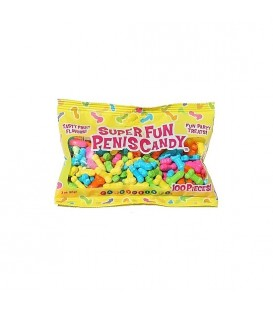 SUPER FUN PENIS CANDY - 100 PC /88 GRAMOS