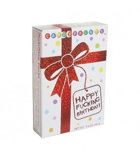 X RATED CANDY CARAMELOS DULCES FELIZ CUMPLEANOS 1UDS