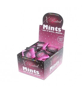 X RATED DISPLAY DE CARAMELOS DE MENTA