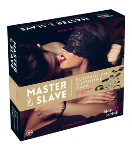 MASTER SLAVE KIT BDSM PARA PAREJAS BEIGE
