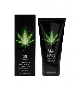 CBD LUBRICANTE CANNABIS BASE AGUA 50 ML