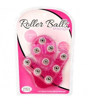 ROLLER BALLS MASAJEADOR ROSA