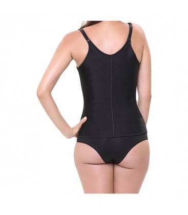 CORSET LATEX SHAPE NEGRO