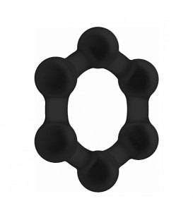 NO. 83 WEIGHTED COCK RING BLACK