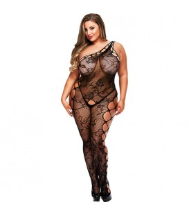 OFF THE SHOULDER BODYSTOCKING BODY ASIMeTRICO