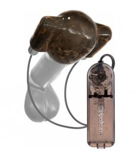 CLASSIX DUAL VIBRADOR HEAD TEASER NEGRO GRIS