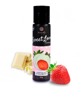 SWEET LOVE GEL LUBRICANTE FRESAS CON CHOCOLATE BLANCO 60ML