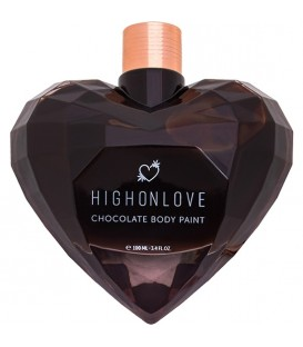 HIGH ON LOVE PINTURA CORPORAL DE CHOCOLATE 100 ML