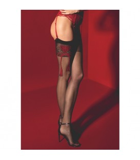 SEGRETA STOCKINGS 20 DEN NEGRO