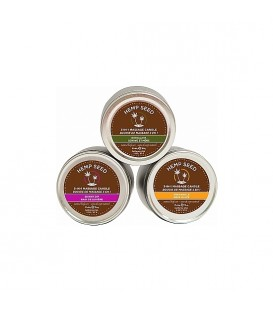 EARTHLY BODY TRIO DE VELAS DE MASAJE 3UDS