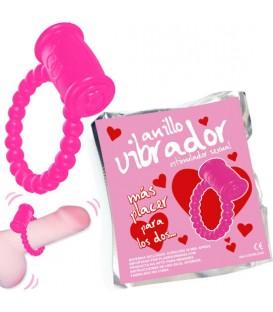 ANILLO VIBRADOR LOVE 1 UNIDAD COLORES SURTIDOS