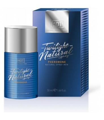 HOT TWILIGHT PERFUME CON FEROMONAS NATURAL PARA eL EN SPRAY 50ML