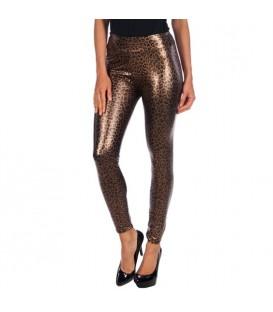 intimax leopardo legging brown