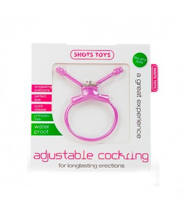 erection booster anillo ajustable pene lila