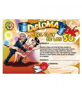 DIPLOMA 50 ANOS