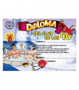 DIPLOMA 40 ANOS