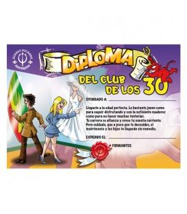 DIPLOMA 30 ANOS