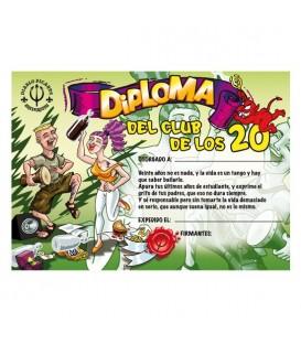 DIPLOMA 20 ANOS