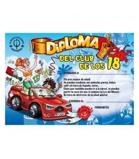 DIPLOMA 18 ANOS