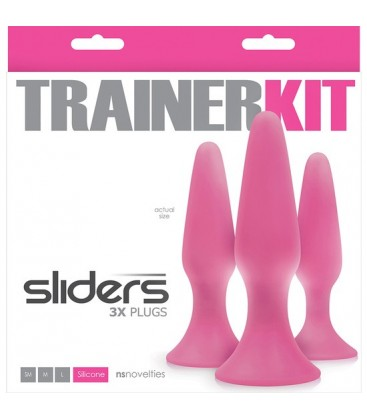SLIDERS KIT PLUG 4PC ROSA