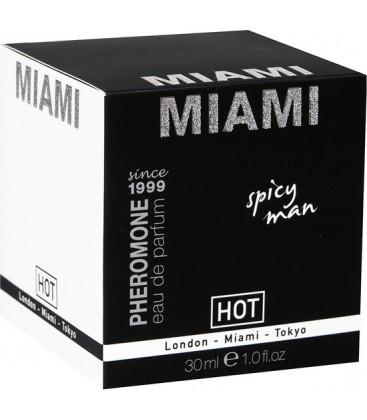 HOT MIAMI PERFUME PARA EL HOMBRE 30 ML