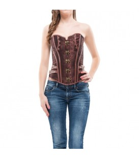 INTIMAX CORSET FAIZA MARRON