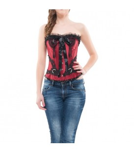 INTIMAX CORSET BARBARA GRANATE