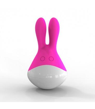 estimulador totoro rosa y blanco