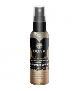 DONA SPRAY LIQUIDO BRILLANTE ORO 60 ML