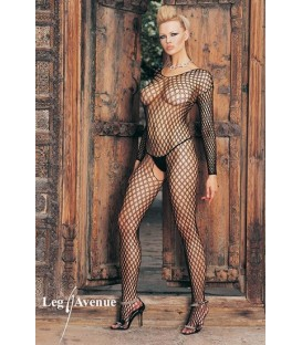 LEG AVENUE MALLA DE RED TIPO CROCHET