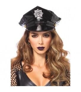 LEG AVENUE GORRA VINILO DE POLICIA