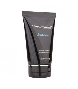 WICKED AQUA JELLE  LUBRICANTE ANAL CON BASE DE AGUA 120 ML