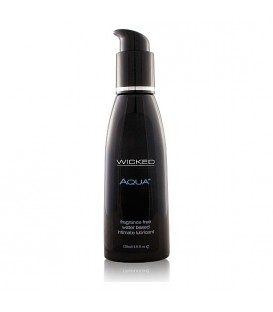 WICKED AQUA LUBRICANTE CON BASE DE AGUA 120 ML