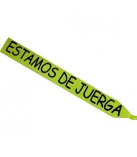 BANDA FLUOR ESTAMOS DE JUERGA NEGRO