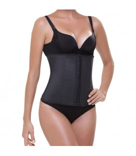 CORSET LATEX APPEARANCE NEGRO
