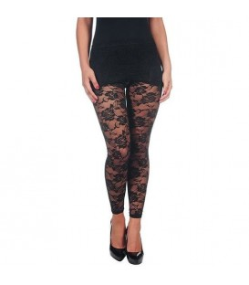 INTIMAX LEGGING ENCAJE BLACK