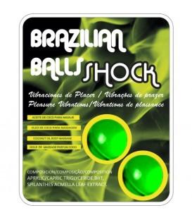 SET 2 BOLAS BRASILENAS CON LUBRICANTE