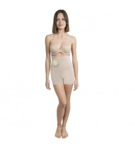 SHORTY MINI COSMeTICO TEXTIL COLOR BEIGE