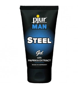 PJUR MAN STEEL GEL 50ML TUBE