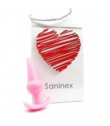 SANINEX PLUG INITIATION ORGASMIC ANAL SEX COLOR ROSA
